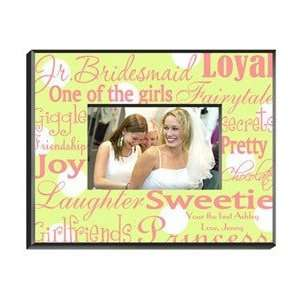 Junior Bridesmaid Picture Frame Personalized Everything