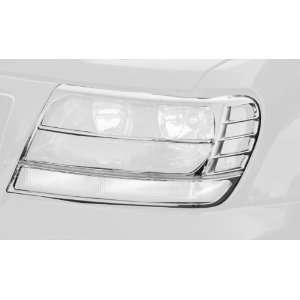 Rugged Ridge 13310.10 Chrome Headlight Trim Cover for Jeep