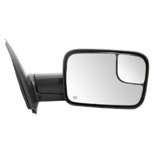 New Passenger Power Heated Side View Mirror w/Towing