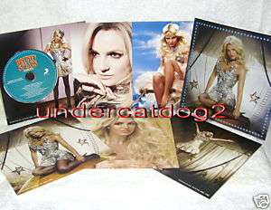 Britney Spears Circus Taiwan Promo Remix CD+ 6 Card Mix
