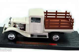 1934 FORD PICKUP PICK UP TRUCK 1/18 DIECAST 1/18 WHITE