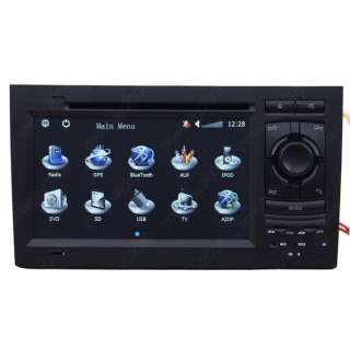 2002 2008 Audi A4 Car GPS Navigation Radio Bluetooth IPOD ISDB T TV