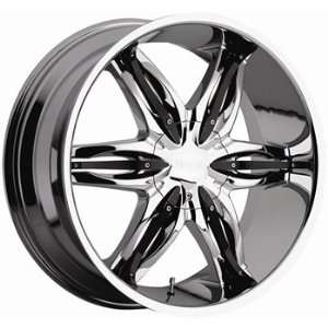 Viscera 778 20x9 Chrome Wheel / Rim 5x4.5 & 5x4.75 with a 10mm Offset