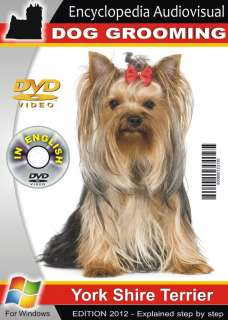 DOG GROOMING Yorkshire Terrier Yorkie EXCELENT see inside