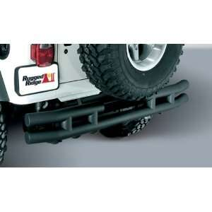 TUBE BUMPER; BLACK TEXTURED; 87 06 JEEP WRANGLER/UNLIMITED Automotive