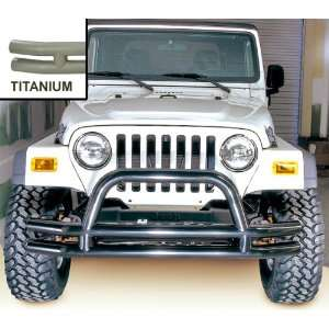 TUBE BUMPER; TITANIUM; 76 06 CJ; JEEP WRANGLER/UNLIMITED Automotive