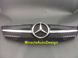 Front Grille (BLACK) For Mercedes Benz 2005 2009 CLS Class W219
