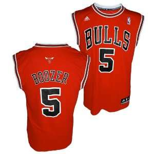 Chicago Bulls Carlos Boozer Red Replica Jersey Sports