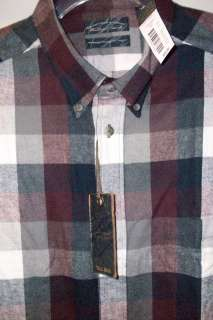 YORKE DOURO PORTUGUESE FLANNEL PLAID LONG SLEEVE SHIRT 3XLT $55