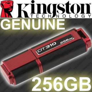 GENUINE Kingston DT310 256GB USB Flash Drive Thumb ReadyBoost