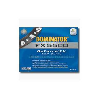 Mad Dog Multimedia Dominator FX 5500 AGP 128MB Graphics Accelerator