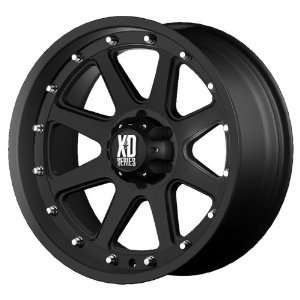17x9 KMC XD Addict (Matte Black) Wheels/Rims 8x180 (XD79879088718)