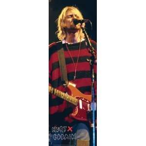 Kurt Cobain Nevermind Nirvana Rock Music Poster 12 x 36