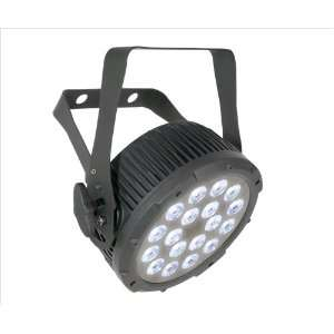 Chauvet Slimparprotri 9 Channel DMX Tri Colored LED Par Can Wash Light
