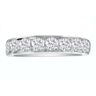 10K Solid White Gold 2Ct Genuine Diamond Prong Set Wed