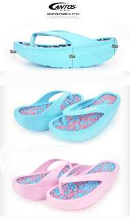 Cantos Womens Girls Massage Flip Flops Beach Sandals Flats Balancing