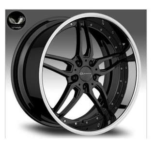 20 GIOVANNA CALIFIVE BLACK RIMS WHEELS 20x8.5 +35 5x114.3 CAMRY MAXIMA