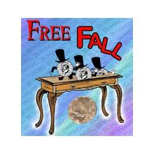 Free Fall   Half Dollar   JB   Money Magic Trick Toys
