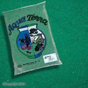 Top Quality Aqua Terra Sand 5lb   Green (6pc)