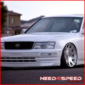 20 LEXUS LS400 MRR HR 3 VIP STAGGERED SILVER CONCAVE RIMS WHEELS