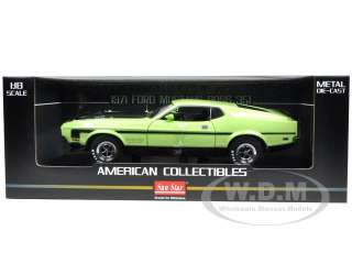 Brand new 118 scale diecast model car of 1971 Ford Mustang Boss 351