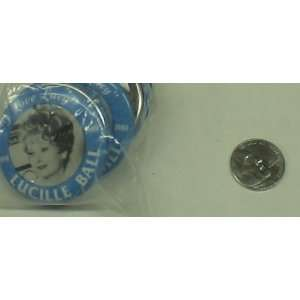 BB2 I LOVE LUCY LUCILLE BALL VINTAGE BUTTON Everything