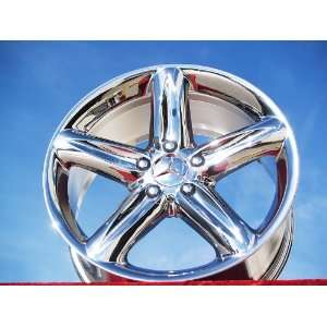 SL500Launch Edition Set of 4 genuine factory 18inch chrome wheels