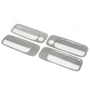 Triple Chrome Door Handle Cover Trims for Toyota Camry