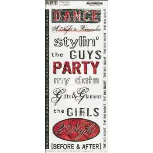 Prom Dance Art Warehouse Scrapbook Stickers (11550) Arts