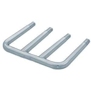 Polished Stainless Steel Rad End Tray Slide, 4 Rails