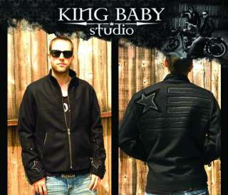 King Baby Studios WOOL Jacket Lamb leather 925 silver