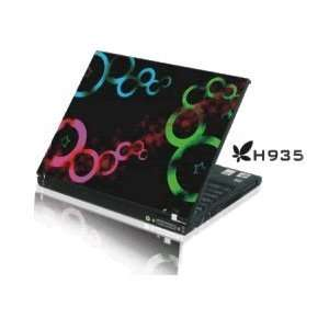 15.4 Laptop Notebook Skins Sticker Cover H935 Colorful