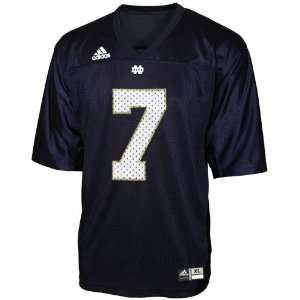 adidas Notre Dame Fighting Irish #7 Navy Blue Toddler