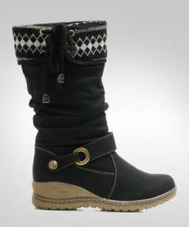New Style Women/Ladies Black Winter Warm Snow Boots Shoes Size #5~#8