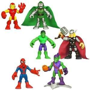Marvel Super Hero Adventures Figure 2 Packs Wave 1 Toys & Games