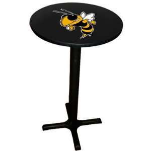 Georgia Tech   College Laminated Pub Table w/black trim