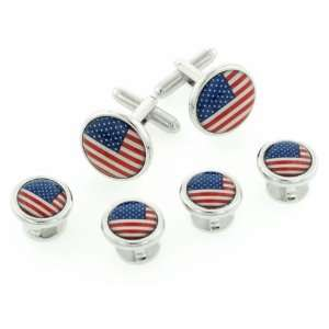 JJ Weston Stars and Stripes American Flag Formal Set with Presentation