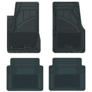 17114 Black Precision All Weather Kustom Fit Car Mat for Ford Mustang