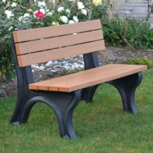 Products Deluxe Commercial Grade Park Bench Patio, Lawn & Garden