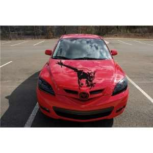 NISSAN HOOD DECAL sticker FIT ANY CAR DRAGON