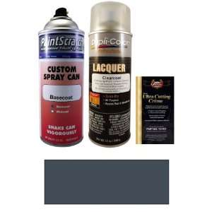 12.5 Oz. Dark Blue Gray Metallic Spray Can Paint Kit for
