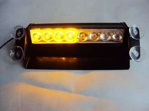 LED High Power Strobe Flash Deck Warning Light Amber