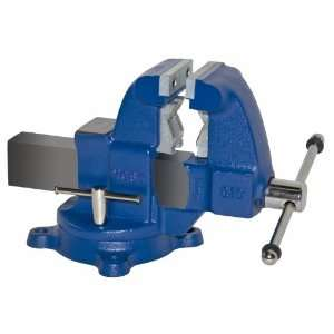 3 1/2 Heavy Duty Combination Pipe & Bench Vise, Swivel