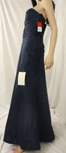 DONNA RICCO STRAPLESS TAFFETA EVENING MAXI DRESS $298