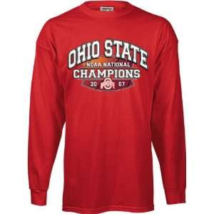 2007 NCAA Basketball National Champions Red Big Time Long Sleeve