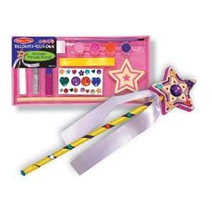Melissa & Doug Wooden Princess Wand   DYO Toys & Games