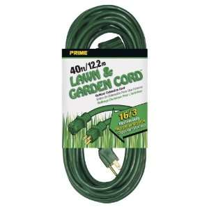 SJTW Lawn and Garden Outdoor Extension Cord, Green