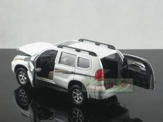 32 Toyota Land Cruiser PRADO white pull back car Metal Die Cast