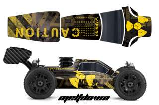 AMR RACING RC GRAPHIC SKINS DECAL KIT MUGEN PROLINE BULLDOG BODY MBX6