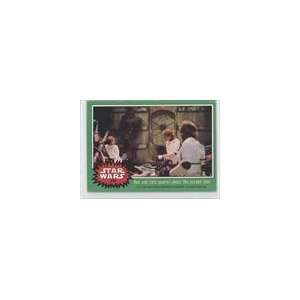 Star Wars (Trading Card) #216   Han and Leia quarrel
